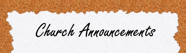 church_announcement
